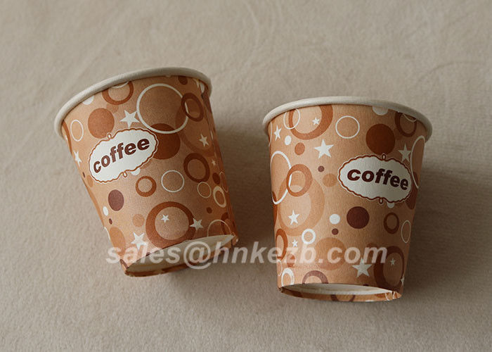 Customized Vending Recycled Paper Cups 7oz for Beverage / coffee